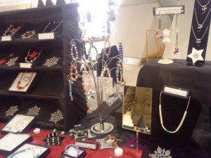 photo of part of stall display