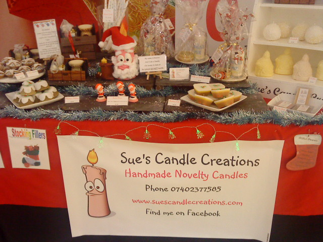 photo of stall at Christmas Craft Market, Dunfermline