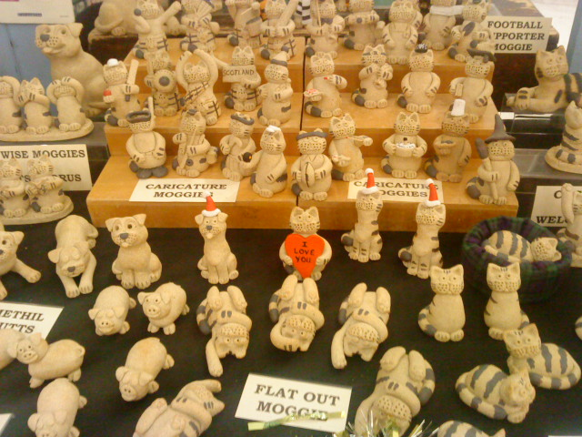 photo of Earthen Images stall at Christmas Craft Market Dec 2012