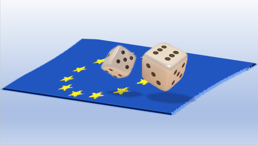 Dice Roll Brexit European Union