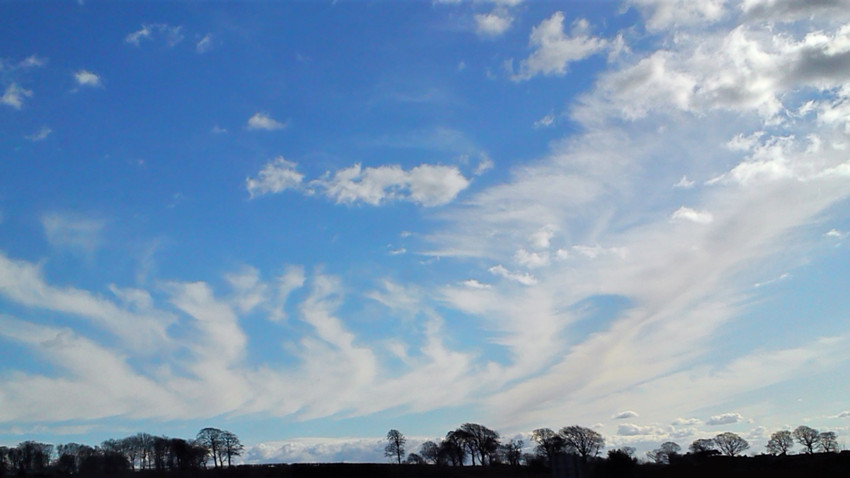 Photograph of clouds - creativity